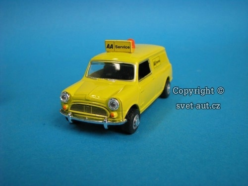 Mini Cooper Van AA Service 1:43 Oxford