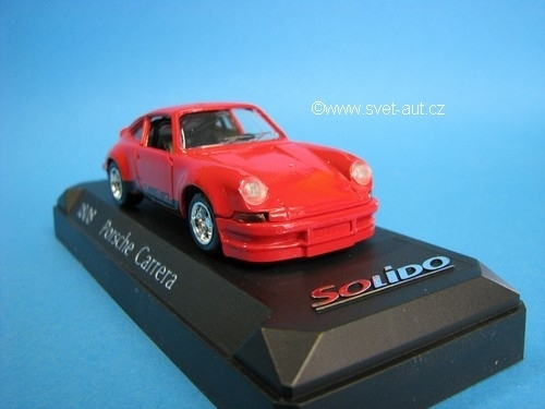 Porsche Carrera Red 1:43 Solido