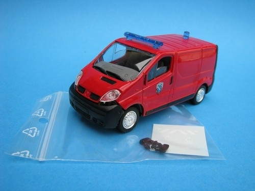 Renault Trafic fire 1:43 Solido
