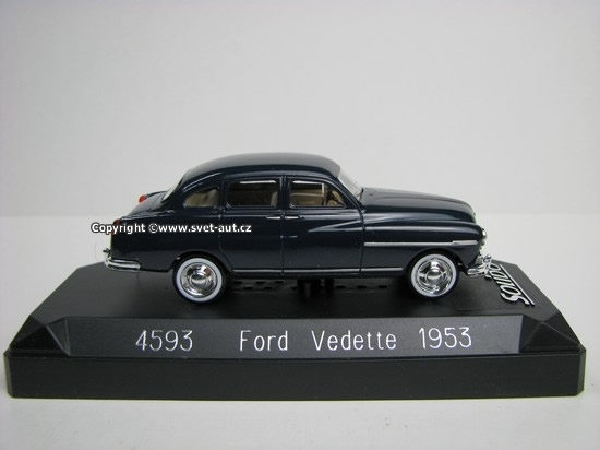 Ford Vedette 1953 Blue 1:43 Solido