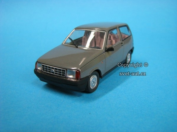 Autobianchi Y10 grey 1:43 Starline