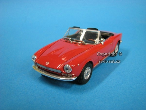 Fiat 124 Spider red 1:43 Starline