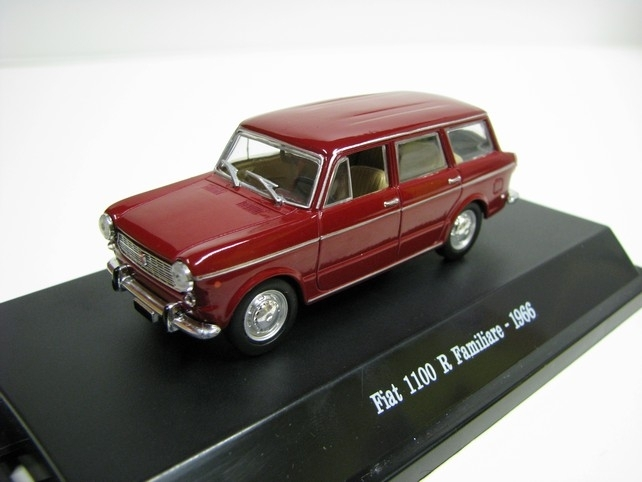 Fiat 1100 R Familiare 1966 red 1:43 Starline Models