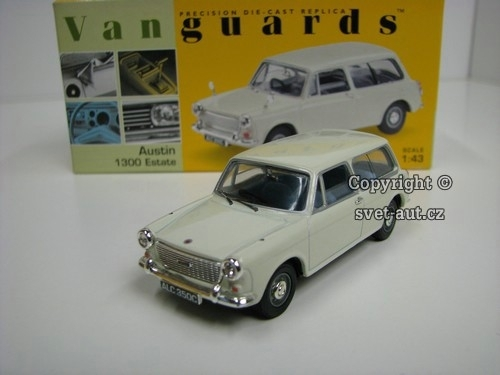 Austin 1300 Estate 1:43 Lledo Vanguards