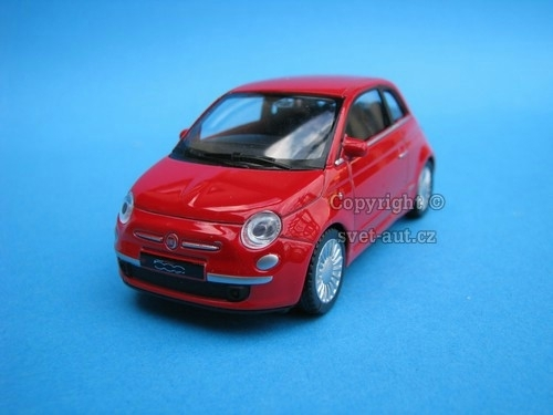 Fiat 500 Nuova red 1:43 Welly