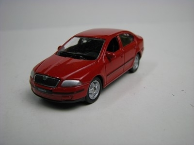 Škoda Octavia II red 1:60 Welly Blistr
