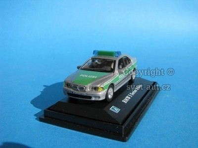 BMW 5 Series Sedan POLIZEI 1:72 Cararama
