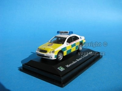 Mercedes-Benz C Class Sedan Emergency Ambulance 1:72 Cararama