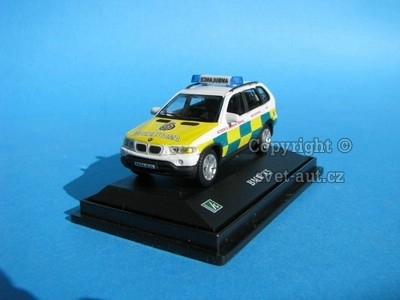 BMW X5 Emergency Ambulance 1:72 Cararama