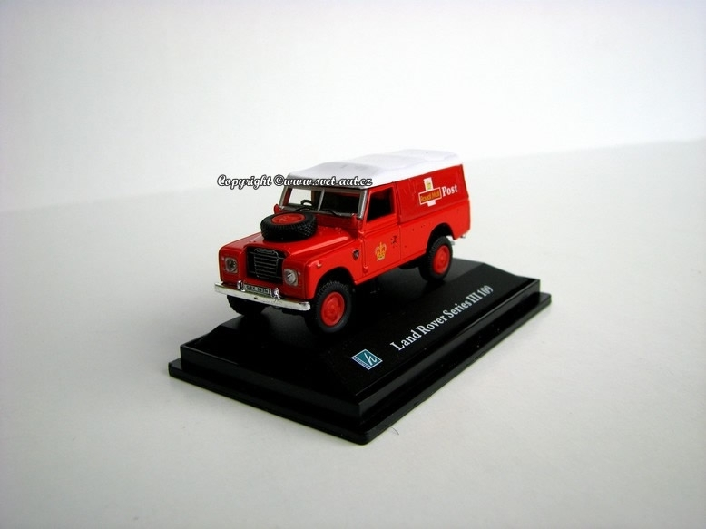 Land Rover series III 109 Royal Post 1:72 Cararama