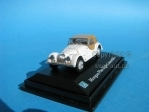Morgan Plus Eight Convertible white 1:72 Cararama