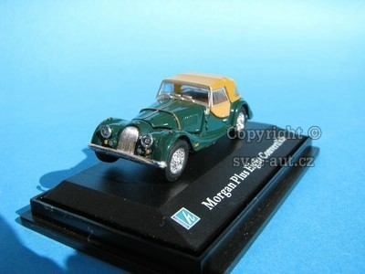 Morgan Plus Eight Convertible green 1:72 Cararama
