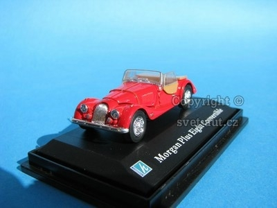 Morgan Plus Eight Convertible red 1:72 Cararama