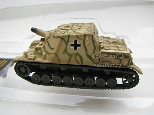 Tank German Brummbar 1:72 Easy Model