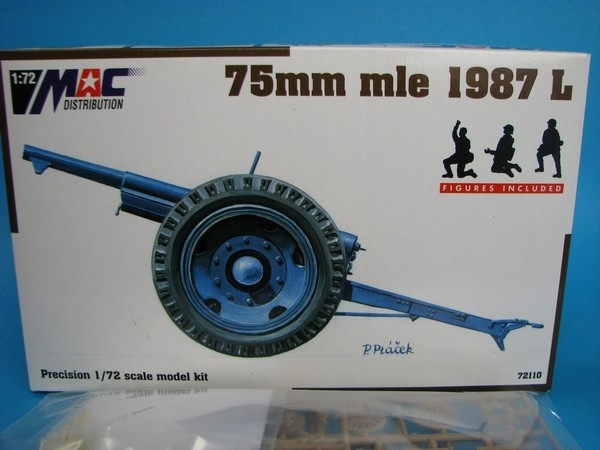 75mm mle 1987 L 1:72 MAC