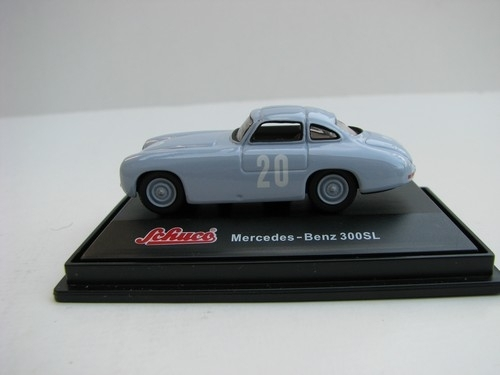 Mercedes-Benz 300 SL blue grey Nr.20 1:72 Schuco