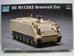 US M113A3 Armored Car Kit 1:72 Trumpeter