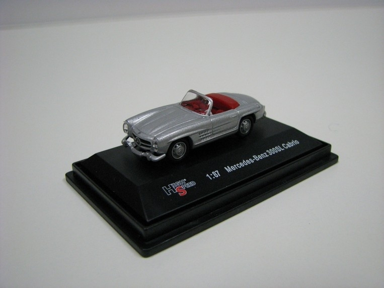 Mercedes-Benz 300SL Cabrio 1:87 High Speed