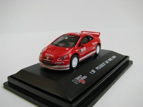 Peugeot WRC 2004 No.5 1:87 High Speed