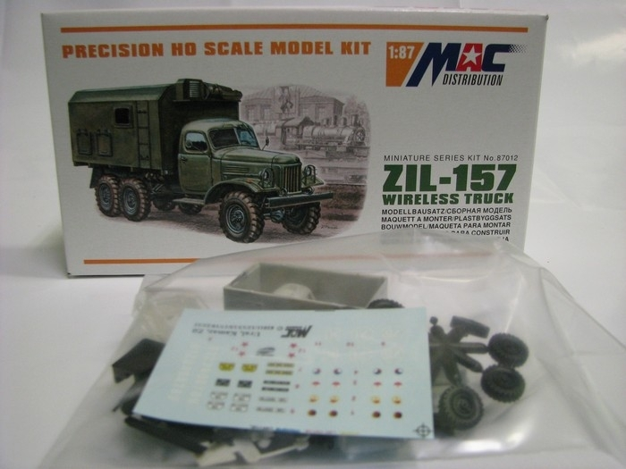 ZIL 157 Wireles Truck 1:87 MAC 87012