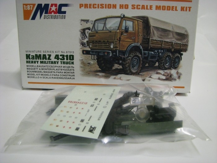 KaMAZ 4310 Heavy Military Truck 1:87 Mac