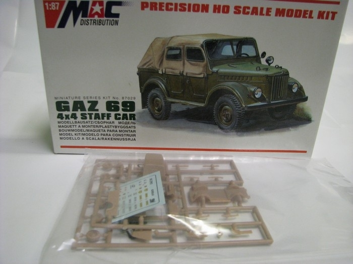 Gaz 69 4X4 Staff Car 1:87 MAC