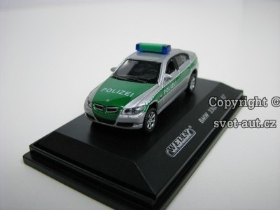 BMW 330i Polizei 1:87 Welly