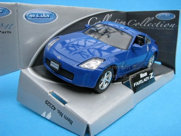 Nissan Fairlady Z blue 1:32 - 36 Welly