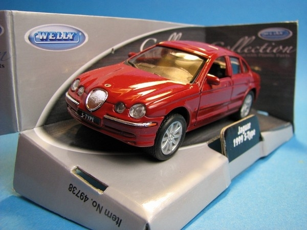 Jaguar 1999 S-Type Red 1:32-36 Welly