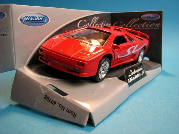 Lamborghini Diablo SV Red 1:32 - 36 Welly
