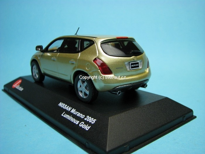 Nissan Murano Luminous Gold 1:43 Jcolections Models
