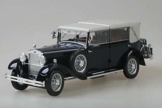 Škoda 860 1932 Dark Blue 1:18 Abrex