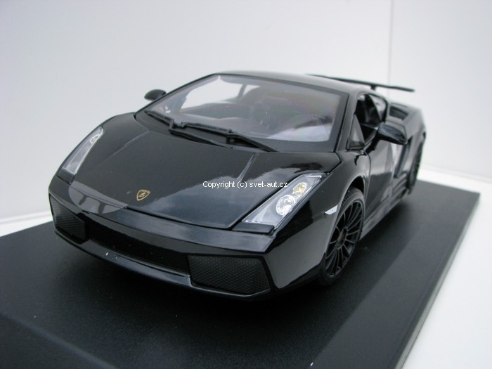 Lamborghini Gallardo Superleggera 2007 black 1:18 Maisto
