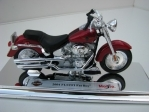Harley-Davidson 2004 FLSTFI Fat Boy red 1:18 Maisto
