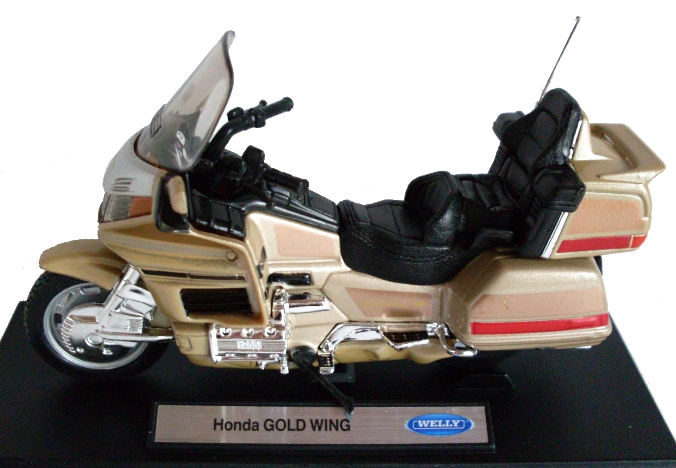 Honda Gold Wing Gold Brown 1:18 Welly