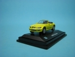 BMW Z3 Roadster yellow 1:72 Cararama