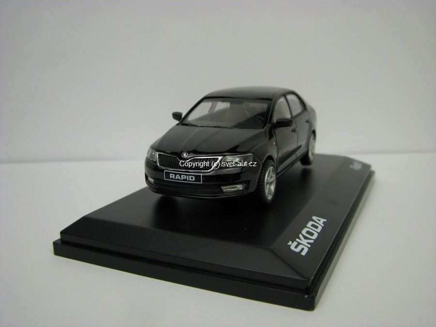 Škoda Rapid 2012 D Black Magic 1:43 Abrex