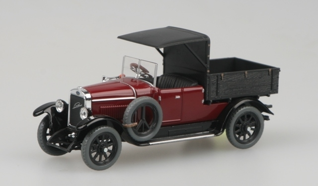 Škoda Laurin a Klement Combi Body 1927 Purple red 1:43 Abrex