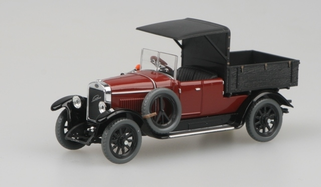 Škoda Laurin a Klement 110 Combi Body 1927 Pick Up Blue Brown 1:43 Abrex