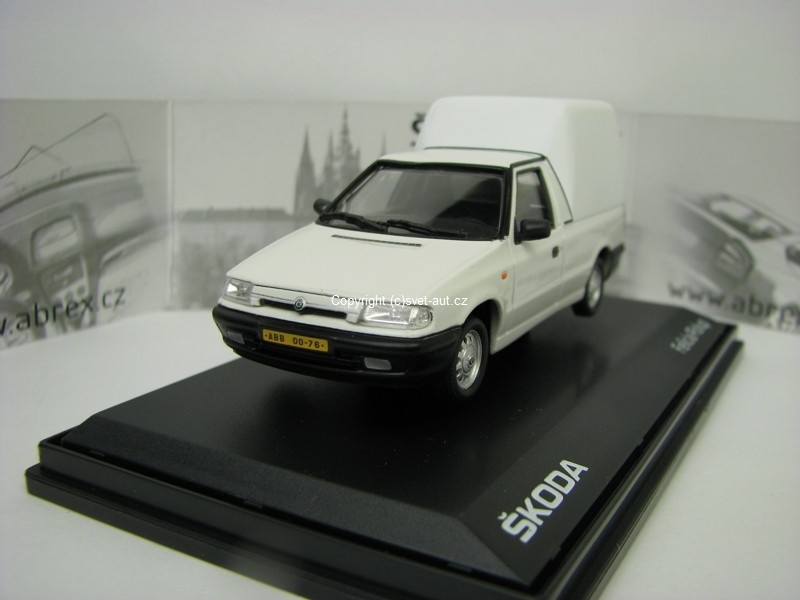 Škoda Felicia Pick Up 1996  White 1:43 Abrex