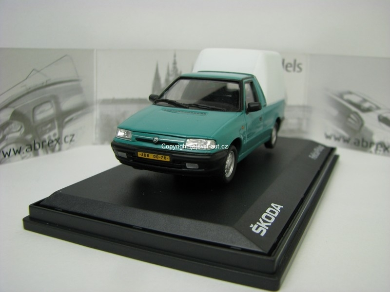 Škoda Felicia Pick Up 1996 Atlantic Green 1:43 Abrex