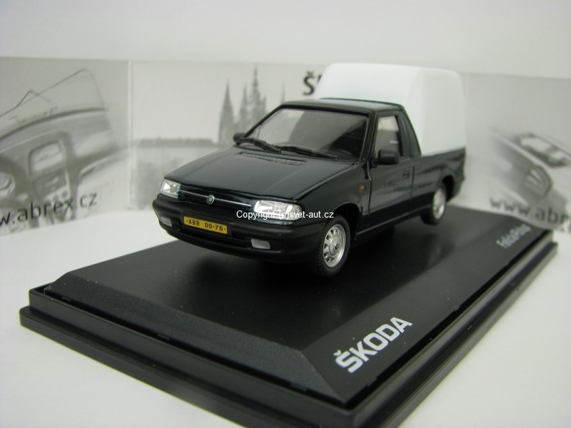 Škoda Felicia Pick Up 1996 Dark Green 1:43 Abrex