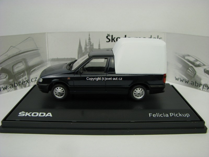 Škoda Felicia Pick Up 1996 Royal Blue 1:43 Abrex