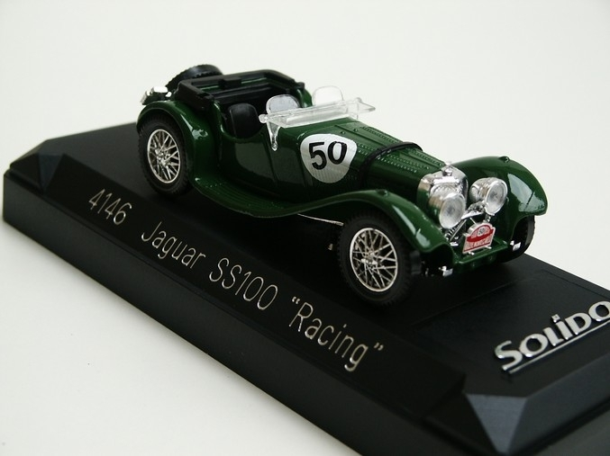 Jaguar SS100 Racing No.50 Green 1:43 Solido