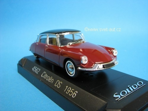 Citroen DS 1956 Purple/Black 1:43 Solido