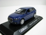 Audi A3 sportback Blue 1:43 Welly