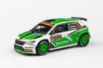 Škoda Fabia III R5 2015 Rally Sweden 2016 No.32 Tidemand 1:43 Abrex