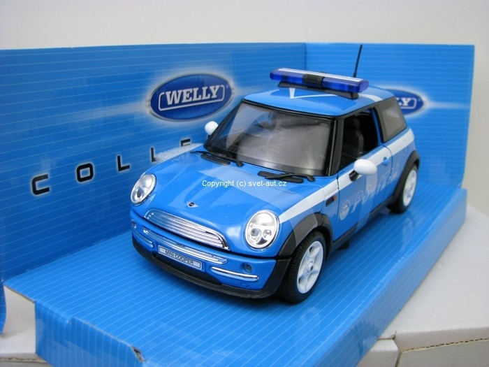 Mini Cooper Polizia 1:24 Welly