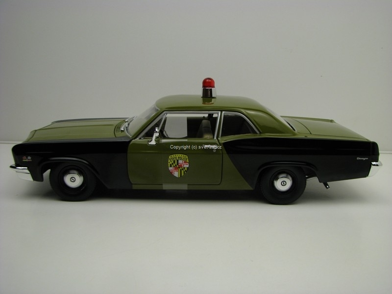 Chevrolet Biscayne 1966 Maryland State Police 1:18 Ertl Auto Wor