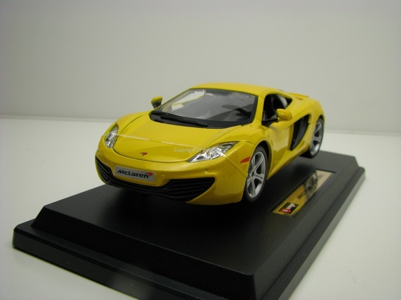 McLaren MP4-12C Yellow 1:24 Bburago